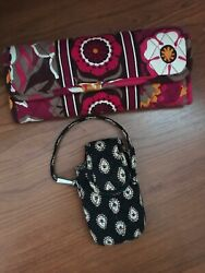 vera bradley all in one crossbody wallet amp; Little Case $13.00