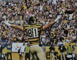Jesse James Steelers Signed/inscr The Outlaw 11x14 Color Photo Jsa 141517