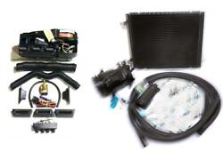 Gearhead Ac Heat Defrost Air Conditioning Compac Kit W/ Compressor Fittings Hose