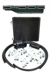 Gearhead Slimline Ac Heat Defrost A/c Air Conditioning Kit + Fittings Compressor