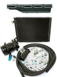 Gearhead Slimline Ac Heat Defrost Air Conditioning A/c Kit W Compressor Fittings