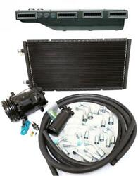 Gearhead Slimline A/c Ac Heat Defrost Air Conditioning Kit + Compressor Fittings