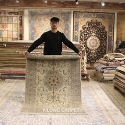 Clearance Yilong 4and039x6and039 Thick Handmade Wool Area Rug Good Hand Woven Carpet 2124