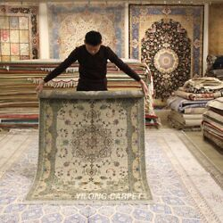 Clearance Yilong 4and039x6and039 Home Decor Handmade Wool Rug Classic Woollen Carpet 2062