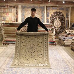 Clearance Yilong 4and039x6and039 Classic Handmade Wool Rugs Medallion Woolen Carpets 2057