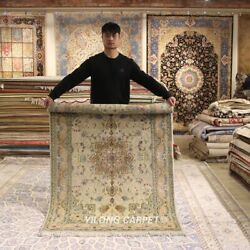 Clearance Yilong 4and039x6and039 Oriental Wool Rug Fleece Hand-knotted Woolen Carpet 2118