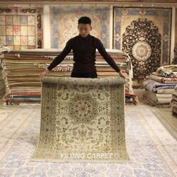 Clearance Yilong 4and039x6and039 Thick Handmade Wool Rug Soft Porch Woolen Carpets 2120