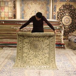 Clearance Yilong 4and039x6and039 Oriental Handmade Wool Rugs Classic Woollen Carpet 2076