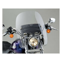 National Cycles Spartan Windshield 1625 Clear For Harley Davidson Fxst 86-15