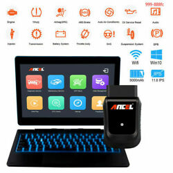 Tablet Scanner Full System ABS SRS EPB Diagnostic Tool Ancel X5 Pros Wifi OBD2