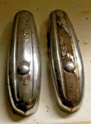 1939 1940 Plymouth Bumper Guards Pair