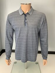 Hugo Boss Polo Blue Collared Top Size L Large Regular Fit P2p 22andrdquo Inches Tivoll