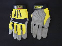20 Pack Of Mechanix Wear 2.5 Work Gloves- Yellow-med Clearance