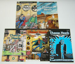 The Cheese Heads 1-5 Vf/nm Complete Series - Tragedy Strikes Press Set 2 3 4