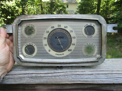 1933 Chrysler Imperial Royal Instrument Cluster No Speedometer Amp And Oil Gauge