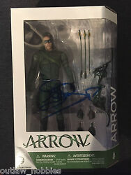 Cw Arrow Dc Collectibles Stephen Amell Autographed Signed Action Figure Coa S5
