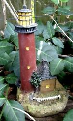 Latex Lighthouse Mold 5h X 3 X 2.5 Plaster Cement Casting