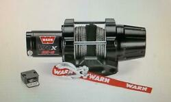 Warn Vrx 25 Atv Synthetic Winch Complete Kit Yamaha Grizzly 660 2002-2008