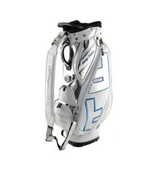 Design Tuning TPU Caddie Golf Clubs Bag White-Blue 9In 6Way Sporting Goods