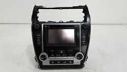 2013 Toyota Camry Radio Receiver w/ CD Player & A/C Heater Climate Control OEM