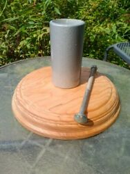 Custom Wood Parking Meter Table Top Stand For Your Duncan, Pom, Rockwell ,