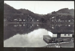 Real Photo Duffy Ohio River New Martinsville West Virginia Postcard Copy