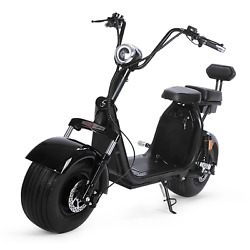 Ebikeling 60v 1500w 2000w 18 Fat Tire Electric Lifestyle Scooter Miami