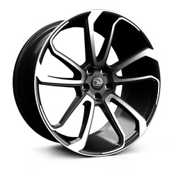 22 Hawke Falkon Polished Alloy Wheels / Tyres For Range Rover Vogue And Sport