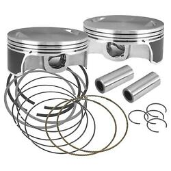 S And S Cycle Pistons 111/117/124 .020 106-3964a