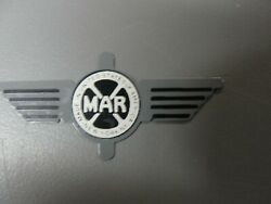Marx Train Parts Repro Nyc Gray Observation Plate 11passenger Car Stk351