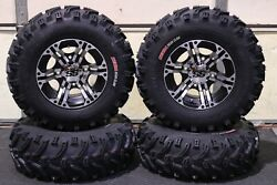 Can Am Outlander 450 25 Bear Claw Atv Tire And Itp Ss212 M Wheel Kit Can2ca