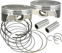 S And S Cycle Pistons 111/117/124 Std 106-3491a