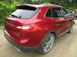 2016 Lincoln Mkx - Rear Clip - Cowl Cut Top And Tail With Floor Body- Ruby Red