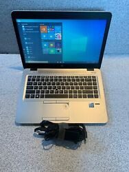 HP Elitebook 840 G3 6th Intel Core  i7-6600U 2.6GHz 16GB 256GB SSD WebCam WIN 10