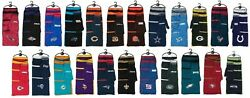 Nfl Team Knit Scarf And Gloves Gift Set Stripes New Nwt - You Choose The Teams