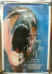 Roger Waters Pink Floyd Signed Autographed 24x36 Poster Bas Certified The Wall 5