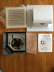 New Old Stock Vintage 'preventilator 2' Exhaust Fan W/motorized Insulated Cover
