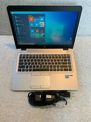 HP Elitebook 840 G3 6th Gen Core  i7-6600U 2.6GHz 16GB 256GB SSD WebCam WIN 10