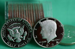 1984 S Clad Proof Kennedy Half Dollar Roll 20 Beautiful Coins 50c In Tube