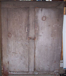 Primitive Canning Cupboard Cabinet From An Ohio Cellar, Pickup In Fife Lake Mi