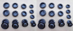 32 Old School Body Panel Plugs Fits Torino Shelby Mustang Falcon Fairlane Gt
