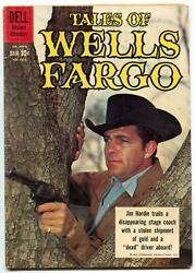 Tales Of Wells Fargo- Four Color 1075 1960- Dale Robertson Fn-
