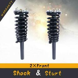 Front Complete Struts Shocks And Coil Springs W/ Mounts For 1998-02 Honda Accord