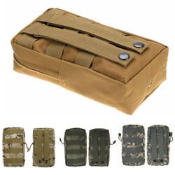 Tactical Molle Pouch Waist Bag EDC Medical First Aid Utility Emergency Hiking