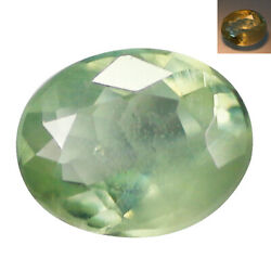 0.33Ct Phenomenal Oval cut 5 x 4 mm Green To Red Color Change Alexandrite