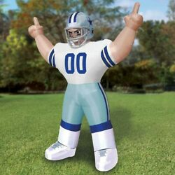 Nfl Football Dallas Cowboys 8and039 Tiny Inflatable Nfl Player