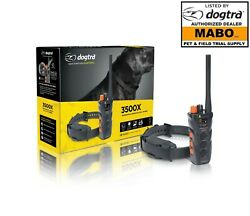 Dogtra Dual Dial Trainer 3500x Authorized Dealer-1+1 Year Extended Warranty