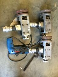 3 Tri Tool Model 303 Tube Squaring And Facing Machines And Bosch 1159.7 Drill