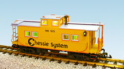 Usa Trains G Scale 12157 Center Cupola Caboose Chessie