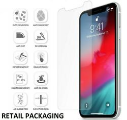 For Apple Iphone 6 7 8 X 11 12 Tempered Glass Screen Protector - Bulk Wholesale